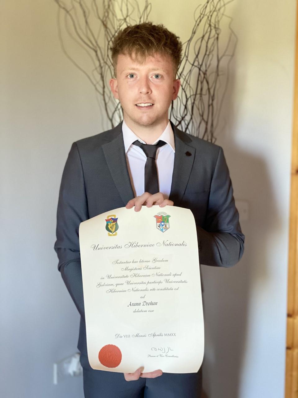 Arann graduation